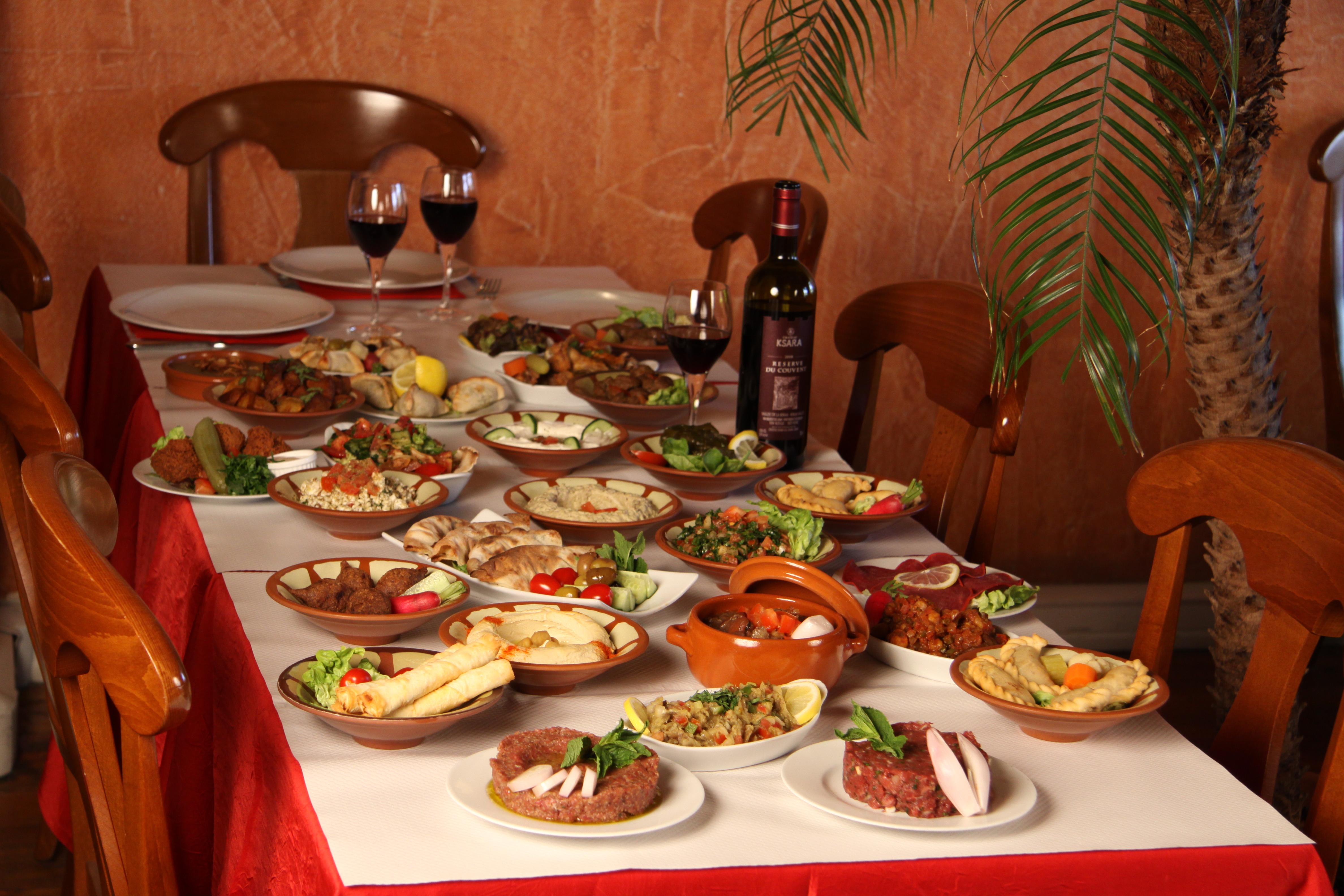 Restaurant le Cèdre Bleu - spécialités libanaises
